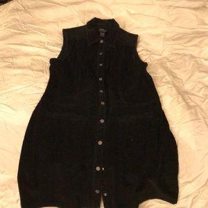 Black Corduroy Dress